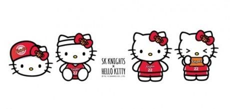 キティちゃん バスケットボール